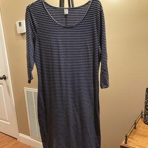 Old Navy Knit Midi Length Dress